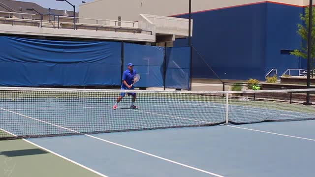 Forehand Volley Visualization  Sequence