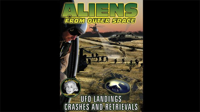 Alien from Outer Space: UFO Landings, Crashes and Retrievals