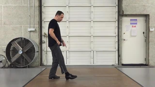 Lesson 109 - New Technique - Walk Backwards!