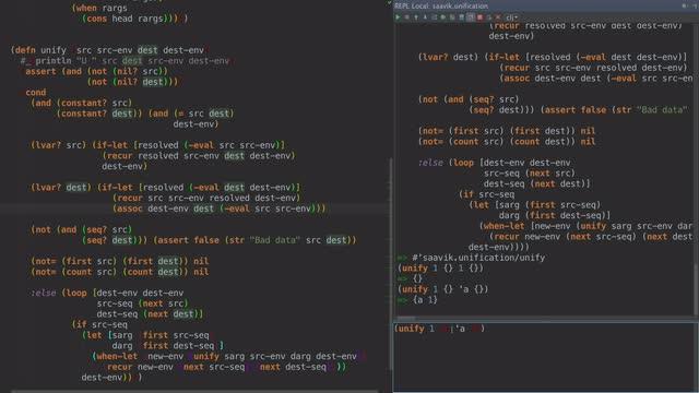 Prolog in Clojure - Ep 1