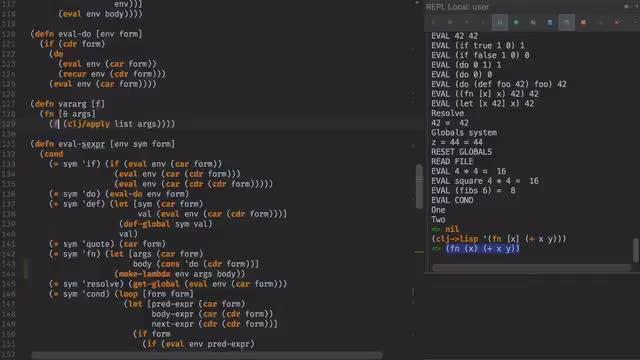 Lisp in X - Ep2 - Lisp in Lisp (in Lisp)