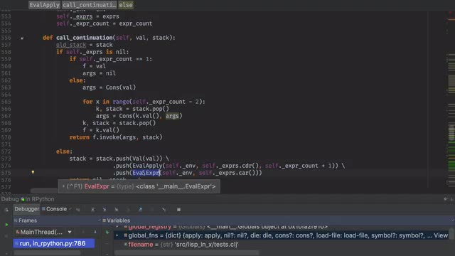 Lisp in X - Ep 5 - RPython Interpreter