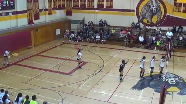 LB WILSON GIRLS VOLLEYBALL VS. LB POLY 10/6/2015 3PM