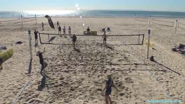 AVP JUNIOR BEACH CLINIC SCRIMMAGE  1-28-17
