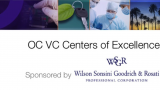 VC in the OC 2012 - OC VC Centers for Excellence