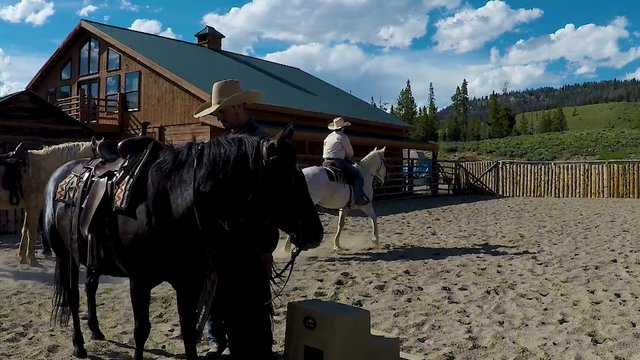Horsemanship Leadership Boys Camp pt.1