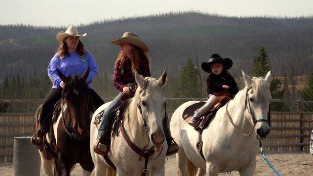 Horsemanship Story Chloe Grace Wilking Pt.2