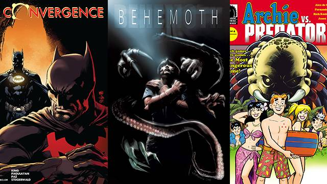 Comic Book Reviews from Pete's Basement Season 8, Episode 14 - 4.21.15