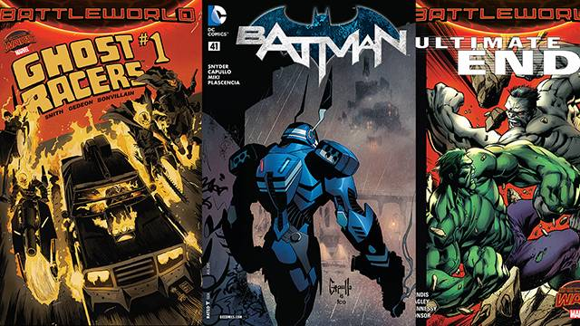 Comic Book Reviews from Pete's Basement Season 8, Episode 20 - 6.16.15