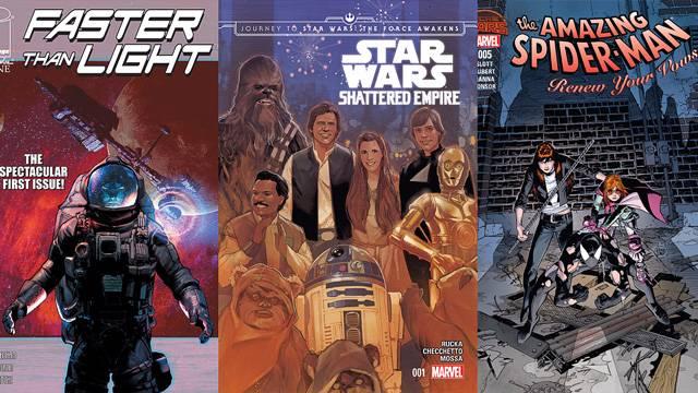 Comic Book Reviews from Pete's Basement Season 8, Episode 32 - 9.15.15