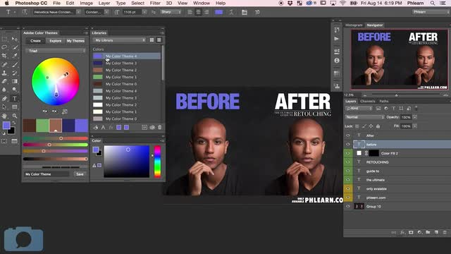 How to Use Advanced Color Tools in Photoshop