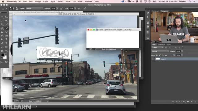 Make a Billboard Advertisement in Photoshop