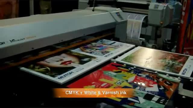 The Mutoh ValueJet 1626UH Hybrid UV-LED Wide-Format Printer