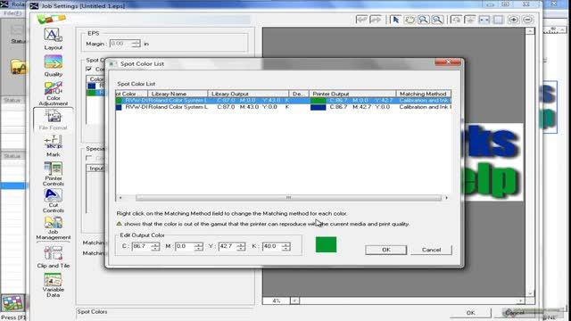 VersaWorks - File Formats