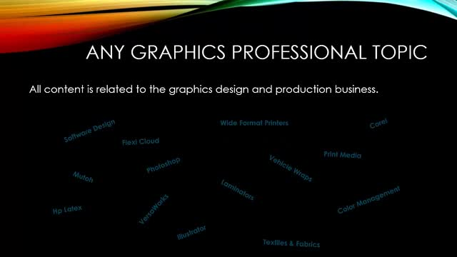 The Graphics Professional Learning Center