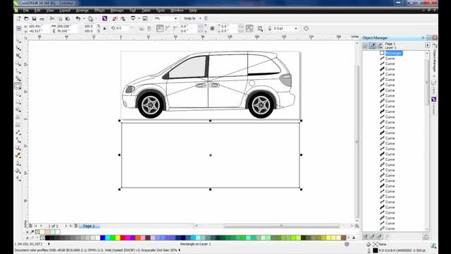Creating Vehicle Wraps in CorelDRAW Graphics Suite X6