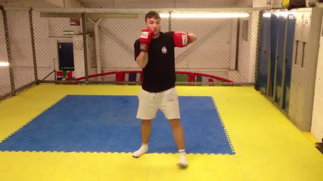 Jab > Right Hand to Body > Left Hook To Head
