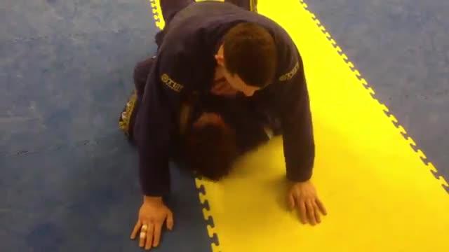 Mount Position VS Basic Arm Trap > Bridge & Roll