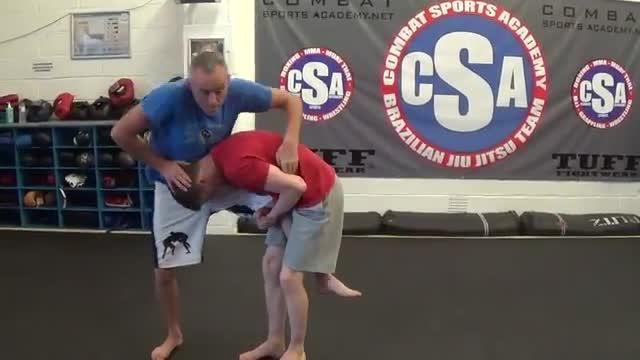 Head Inside Single Leg Takedown Vs Kimura Grip