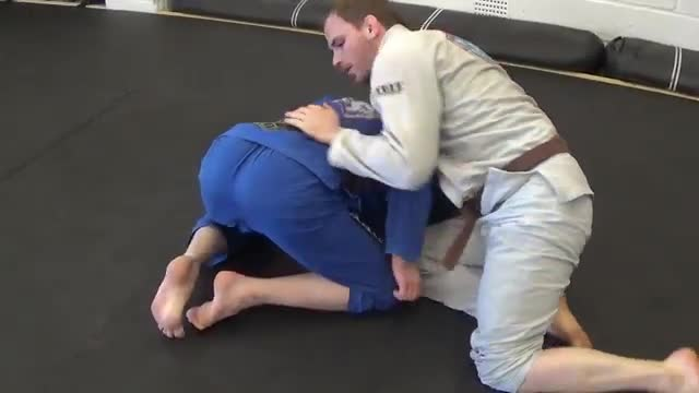 Crucifix Vs Under/Over Half Guard Pass