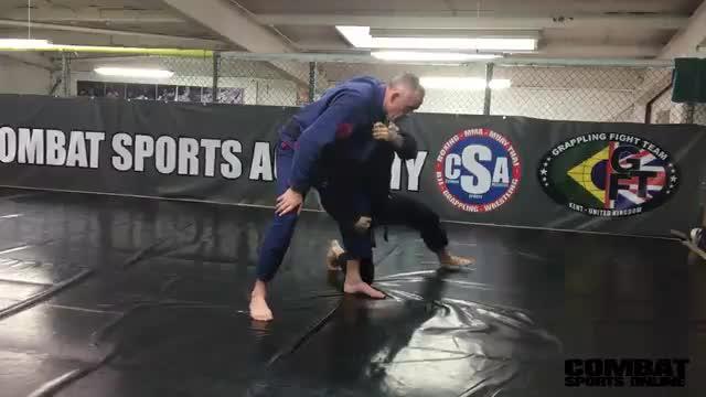 Sweep Single Leg Takedown