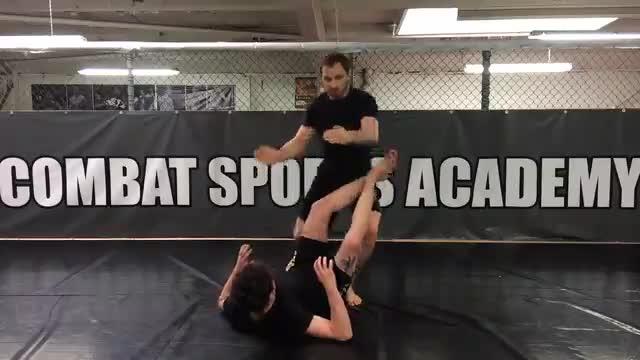 Passing The Elbow > Double Leg Takedown