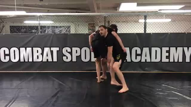 Tricep Pull > High C Takedown