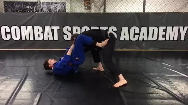 Collar/Spider Guard > Shin on Shin Triangle