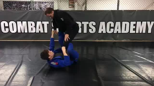 Collar/Spider Guard > Shin On Shin > Double Ankle Sweep