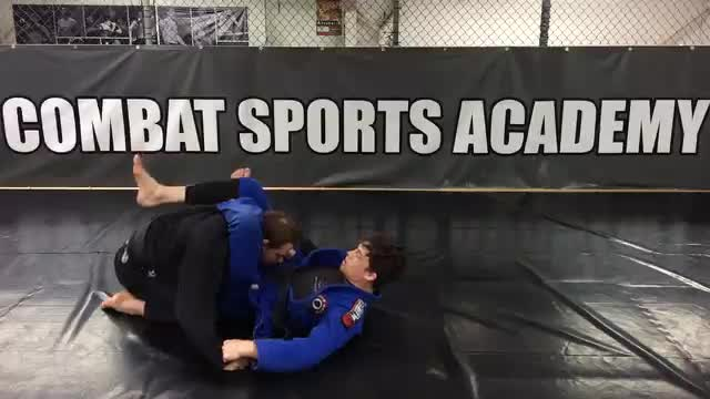 Collar/Spider Guard > Triangle vs Kneeling Opponent > Armbar vs Kneeling Opponent