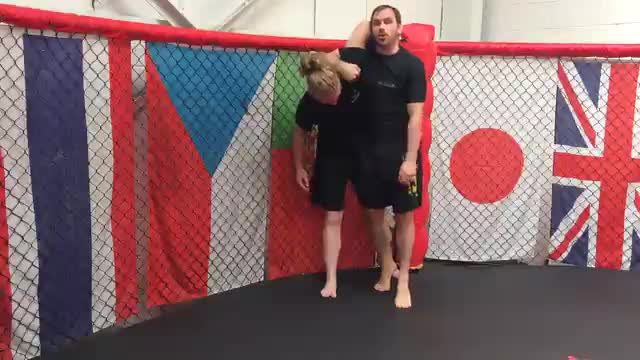 Using The Cage To Pin And Control Your Opponent