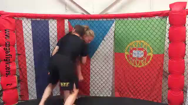 Armdrag Escape Against The Cage