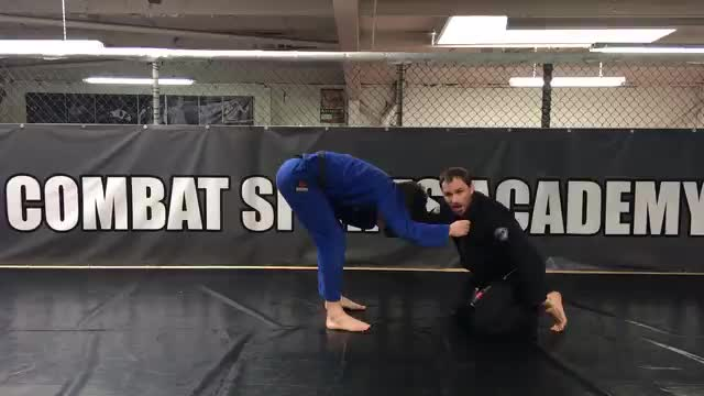 Fake Guard Pull Ankle Pick