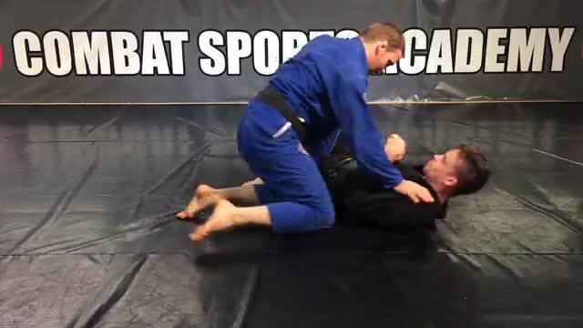 Isolating The Arms To Control The Opponent In Side Control