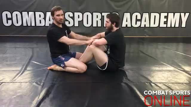 Arm In Guillotine Defence > High Elbow Defence > Von Flue Choke > North/South Choke