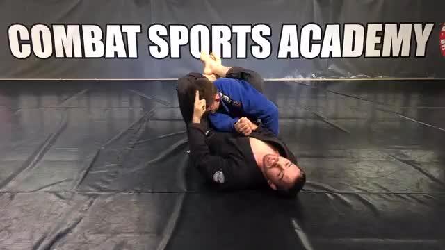 Closed Guard Shoulder Trap Attacks