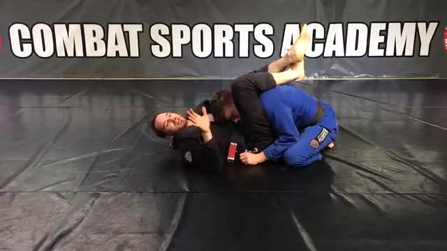 Closed Guard > Overhook Triangle > Punch Choke > Shoulder Step Armbar