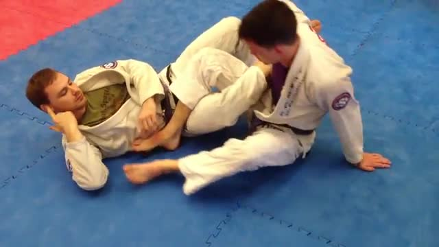 Ankle Lock From 50/50