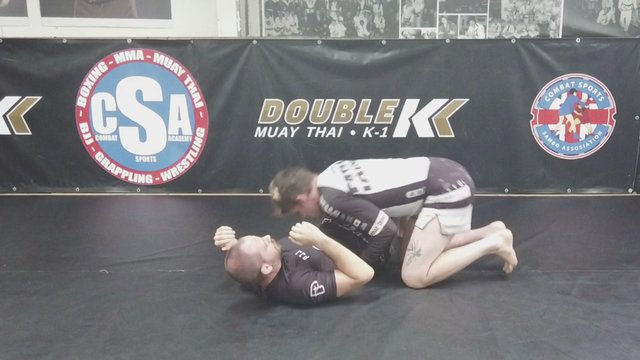 Passing The Half Guard Knee Shield