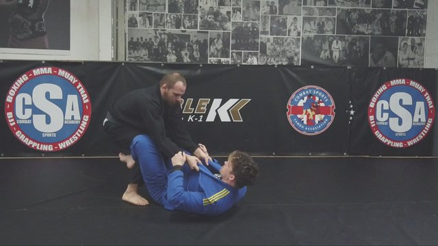 Closed Guard Rolling Mermaid Sweep Vs Standing > Lateral Mermaid Sweep > De La Riva Mermaid Sweep
