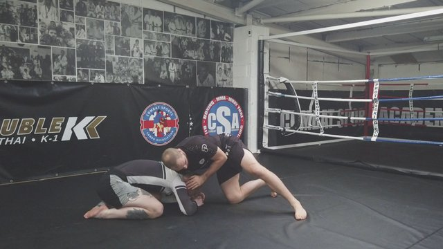 Snap Downs To Front Headlock > Go Behinds
