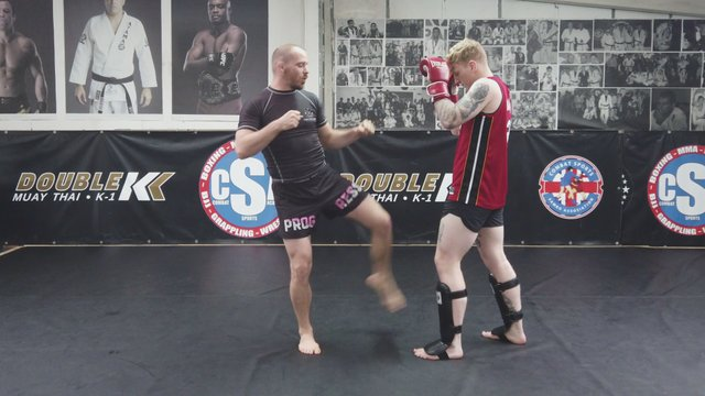 Setting Up Kicks With Punches > Same Side & Opposite Side Punch/Kick