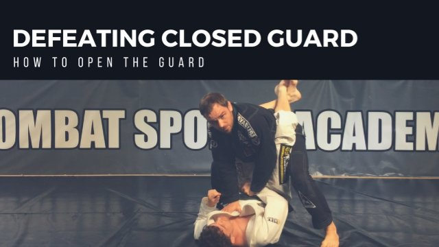 Defeating Closed Guard