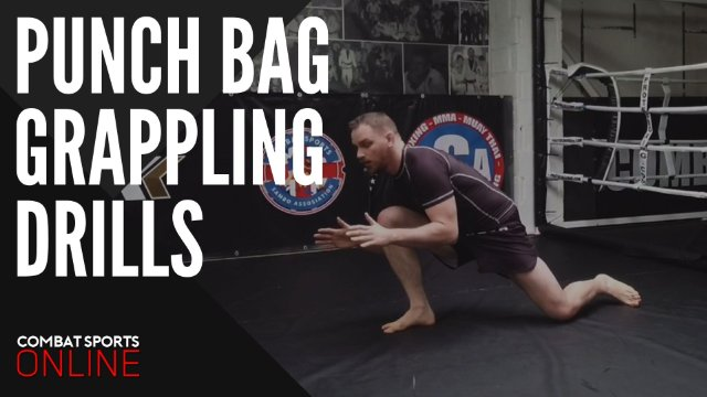 Solo Punch Bag Grappling Drills