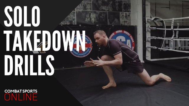 Solo Takedown Drills