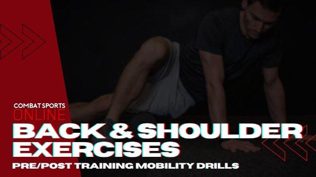 Upper Back And Shoulder Exercises