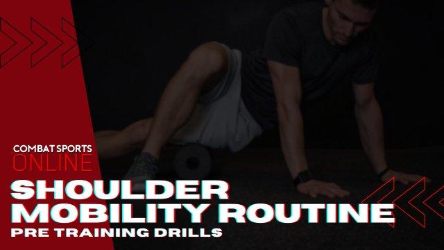 Pre-Training Shoulder Routine
