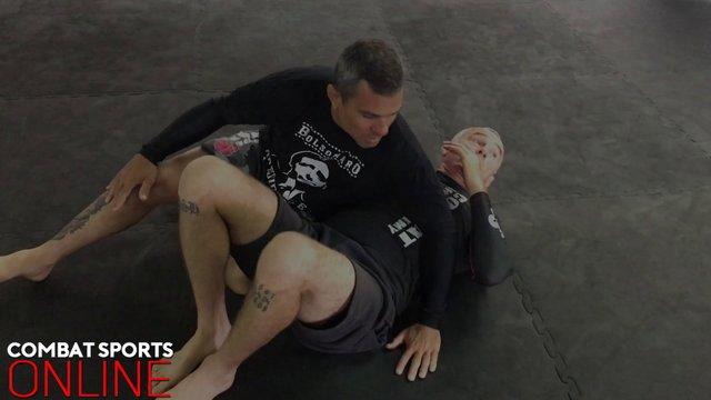 Attacks From Side Control Vs Leg Frame