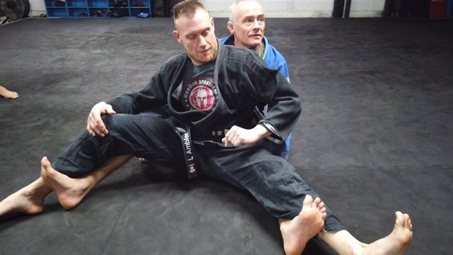 RDLR > Inverted Back Take > Modified X Guard Sweep