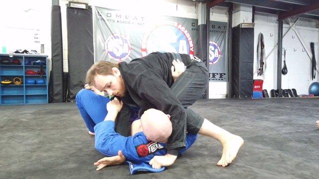 Knee On Neck Choke Vs Side Control > Shotgun Armbar [Gi/NoGi]